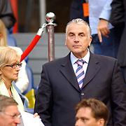 NLD/Amsterdam/20050805 - Johan Cruijffschaal 2005, PSV - Ajax, Mario van den Ende en partner Els Rietman