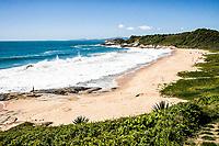 Praia do Pinho, um dos mais conhecidos locais para naturismo no sul do Brasil. Balneário Camboriú, Santa Catarina, Brasil. / Pinho Beach, one of the most famous naturism beaches in Brazil. Balneario Camboriu, Santa Catarina, Brazil.