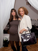 LISA BILTON; ANGELA GRIFFIN; Elemis 20th Anniversary in partnership with Mothers4Children charity. Party to celebrate 20 years in business and to raise money for Mothers4children and new product launches. One Marylebone. London. 2 February 2010.