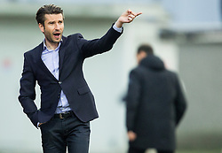 Luka Elsner, head coach of Domzale during football match between NK Domzale and NK Maribor in 25th Round of Prva liga Telekom Slovenije 2014/15, on March 22, 2015 in Sports park Domzale, Slovenia. Photo by Vid Ponikvar / Sportida