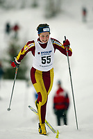 Langrenn, 27. feburar 2003, Junior NM,  Karianne Bjellånes, Bossmo og Ytteren
