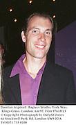 Damian Aspinall. Bagleys Studio, York Way, Kings Cross. London. 6/6/97. Film 97615f23<br />© Copyright Photograph by Dafydd Jones<br />66 Stockwell Park Rd. London SW9 0DA<br />Tel 0171 733 0108