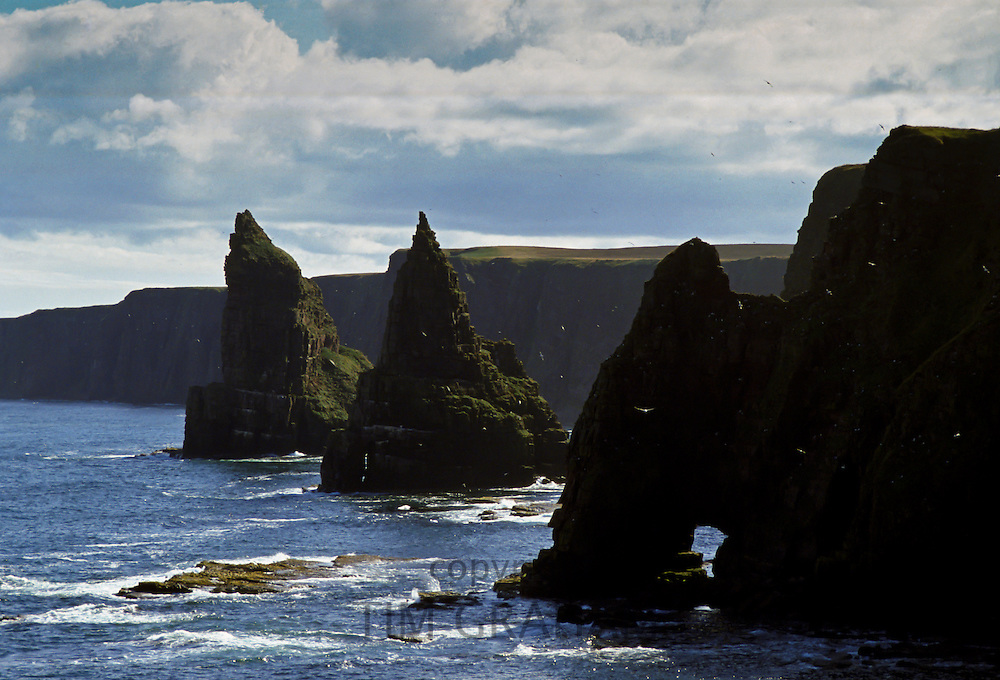 The North Sea at Duncansby Head, Caithness, Scotland, United Kingdom