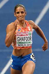 Madiea Ghafoor door naar de finale 400m bij het EK atletiek in Berlijn op 9-8-2018