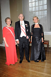 Left to right, PRINCE & PRINCESS DIMITRI OF RUSSIA and PRINCESS OLGA OF RUSSIA at the 13th annual Russian Summer Ball held at the Banqueting House, Whitehall, London on 14th June 2008.<br /><br />NON EXCLUSIVE - WORLD RIGHTS