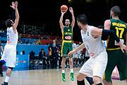 DESCRIZIONE : Lille Eurobasket 2015 Quarti di Finale Quarter Finals Lituania Italia Lithuania Italy<br /> GIOCATORE : Mantas Kalnietis<br /> CATEGORIA : tiro three points<br /> SQUADRA : Lituania Lithuania<br /> EVENTO : Eurobasket 2015 <br /> GARA : Lituania Italia Lithuania Italy<br /> DATA : 16/09/2015 <br /> SPORT : Pallacanestro <br /> AUTORE : Agenzia Ciamillo-Castoria/Max.Ceretti<br /> Galleria : Eurobasket 2015 <br /> Fotonotizia : Lille Eurobasket 2015 Quarti di Finale Quarter Finals Lituania Italia Lithuania Italy