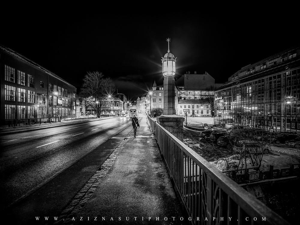 www.aziznasutiphotography.com                   Bakke bry bridge in Trondheim Norway