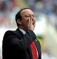 Photo: Ed Godden/Sportsbeat Images.<br />Reading v Liverpool. The Barclays Premiership. 07/04/2007. Liverpool Manager Rafael Benitez.