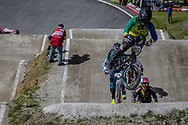 #917 (HUGHES Andrew) AUS during round 4 of the 2017 UCI BMX  Supercross World Cup in Zolder, Belgium.