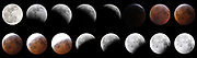 Lunar Eclipse January 20-21 2019, blood moon