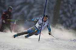 21.12.2011, Hermann Maier Weltcup Strecke, Flachau, AUT, FIS Weltcup Ski Alpin, Herren, Slalom 1. Durchgang, im Bild Nolan Kasper (USA) in Aktion // Nolan Kasper of USA in action during Slalom race 1st run of FIS Ski Alpine World Cup at 'Hermann Maier World Cup' course in Flachau, Austria on 2011/12/21. EXPA Pictures © 2011, PhotoCredit: EXPA/ Johann Groder