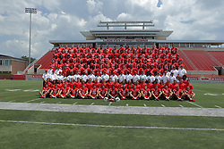 01 August 2017:   Team Photo during 2017 Illinois State Redbirds Football Media Day at Hancock Stadium in Normal IL (Photo by Alan Look)