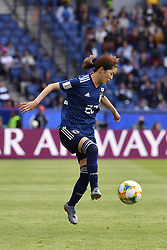 June 10, 2019 - Paris, ile de france, France - Risa SHIMIZU (JPN) in Action during the match between Argentina and Japan at the 2019 World cup  on June 10, 2019, at the Parc des Princes stadium in Paris, France. (Credit Image: © Julien Mattia/NurPhoto via ZUMA Press)