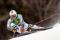 04.03.2017, Podkoren, Kranjska Gora, SLO, FIS Weltcup Ski Alpin, Kranjska Gora, Riesenslalom, Herren, 1. Lauf, im Bild Stefan Luitz (GER) // Stefan Luitz of Germany in action during his 1st run of men's Giant Slalom of FIS ski alpine world cup at the Podkoren in Kranjska Gora, Slovenia on 2017/03/04. EXPA Pictures © 2017, PhotoCredit: EXPA/ Johann Groder