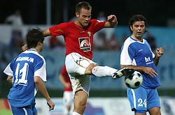 Tuomas Marko Kolsi  (4) of Rudar at 3rd Round of PrvaLiga Telekom Slovenije between NK HIT Gorica vs NK Rudar Velenje, on August 1, 2008, in Nova Gorica, Slovenija. Rudar won the match 2:0. (Photo by Vid Ponikvar / Sportal Images)