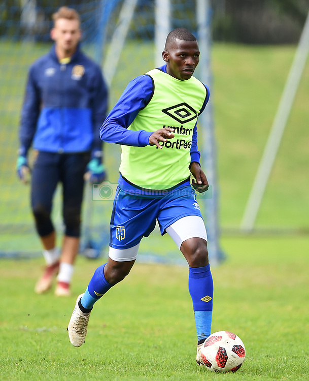 Cape Town-180801-Cape Town City's Thami Mkhize at training session at Hartleyvale Stadium, ahead of their opening game of the 2018/2019 PSL season against Supersport United at Cape Town Stadium on saturday.Photograph:Phando Jikelo/African News Agency/ANA