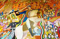 Mural, Allende Institute, San Miguel de Allende, Mexico