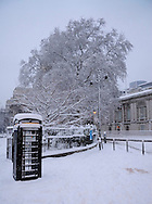 Tower Hill, City, London, England, Britain 2 Feb 2009