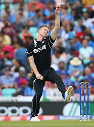 New Zealand's Jimmy Neesham during the ICC Cricket World Cup Warm up match at The Oval, London.