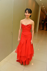 TAMARA ROJO at a pre party for the English National Ballet's Christmas performance of The Nutcracker was held at the St.Martin's Lane Hotel, St.Martin's Lane, London on 12th December 2013.