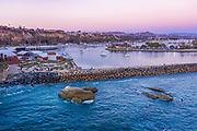 Aerial Photo of Dana Point Harbor West Basin