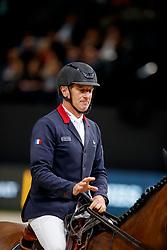 BOST Roger Yves (FRA), Sangria du Coty<br /> Paris - FEI World Cup Finals 2018<br /> Longines FEI World Cup Jumping Final IV<br /> www.sportfotos-lafrentz.de/Stefan Lafrentz<br /> 15. April 2018