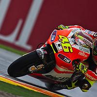 2011 MotoGP World Championship, Round 18, Valencia, Spain, 6 November 2011, Valentino Rossi