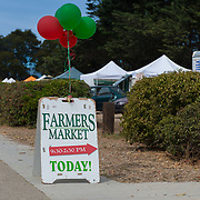 Sausalito Farmers Market Sign