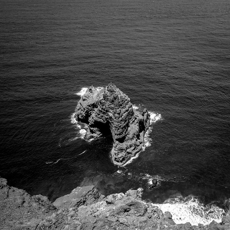 Mirador de Santo Domigo de Garafía, La Palma, Canarias, España, Europa