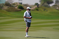 Nick Pugh caddy for Johannes Veerman (USA) on the 9th during Round 3 of the Oman Open 2020 at the Al Mouj Golf Club, Muscat, Oman . 29/02/2020<br /> Picture: Golffile | Thos Caffrey<br /> <br /> <br /> All photo usage must carry mandatory copyright credit (© Golffile | Thos Caffrey)