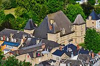 France, Pyrénées-Atlantiques (64), Pays Basque, Mauleon-Licharre, chateau de Maytie d'Andurain // France, Pyrénées-Atlantiques (64), Basque Country, Mauleon-Licharre, Maytie d'Andurain castle