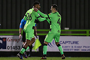 Forest Green Rovers v Mansfield Town 290119