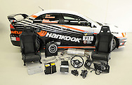Mitsubishi Lancer EVO X (10) Hankook Race Car.Team Mitsubishi Ralliart Workshop.Melbourne, Victoria, Australia .8th June 2010.(C) Joel Strickland Photographics.Use information: This image is intended for Editorial use only (e.g. news or commentary, print or electronic). Any commercial or promotional use requires additional clearance.