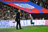 Czech Republic head coach Jaroslav Silhavy during the UEFA European 2020 Qualifier match between England and Czech Republic at Wembley Stadium, London, England on 22 March 2019.