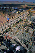 Argyle Diamond Mine, Kununurra. Discovered in 1975, is the most important worlds' diamond mine.