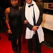 NLD/Amsterdam/20081024 - Uitreiking Televizier gala 2008, Ron boszhard en collega Angela Esajas