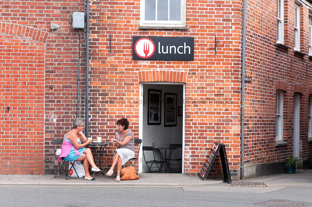 Lunchtime in Truro