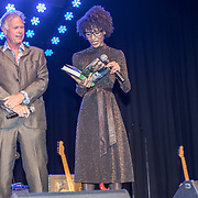 NLD/Bussum/20190306  - boekpresentatie 50 jaar Nederlandse popcultuur van Lex Harding, Ton van der Lee en Sylvana Simons