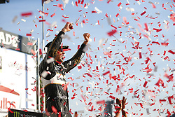 October 14, 2018 - Talladega, Alabama, United States of America - Aric Almirola (10) wins the 1000Bulbs.com 500 at Talladega Superspeedway in Talladega, Alabama. (Credit Image: © Justin R. Noe Asp Inc/ASP via ZUMA Wire)