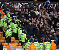 Photo: Ed Godden.<br />Wolverhampton Wanderers v Cardiff City. Coca Cola Championship. 11/03/2006. <br />Cardiff fans clash with police.