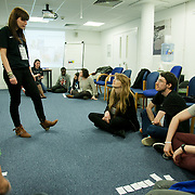 Group work about how best to approach your MP. The Power of IF was a free event organised by ActionAid and other organisations for the Enough Food for Everyone IF campaign. The event in London invied 16-25yr olds to come together to find out more about the campaign. The event was a mix of inspirational speakers and interactive workshops and was hosted by the British hip hop artist TY.