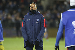 December 13, 2017 - Strasbourg, France - Mbappe Lottin Kylian of PSG during warm-up before the french League Cup match, Round of 16, between Strasbourg and Paris Saint Germain on December 13, 2017 in Strasbourg, France. (Credit Image: © Elyxandro Cegarra/NurPhoto via ZUMA Press)