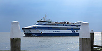 VLIELAND -  Veerboot tussen Harlingen en Vlieland. ANP COPYRIGHT KOEN SUYK