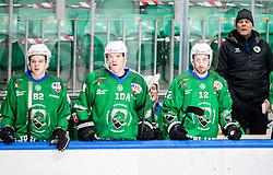 Raimo Summanen, head coach of HK Olimpija during Ice hockey match between HK SZ Olimpija and SHC Fassa Falcons in Round #20 of Alps Hockey League 2020/21, on February 16, 2021 in Hala Tivoli, Ljubljana, Slovenia. Photo by Vid Ponikvar / Sportida