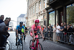 Anna van der Breggen (NED) of Boels-Dolmans Cycling Team rides to the sign-on before the Amstel Gold Race - Ladies Edition - a 126.8 km road race, between Maastricht and Valkenburg on April 21, 2019, in Limburg, Netherlands. (Photo by Balint Hamvas/Velofocus.com)