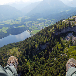 Paragliding in the Alps, 2007
