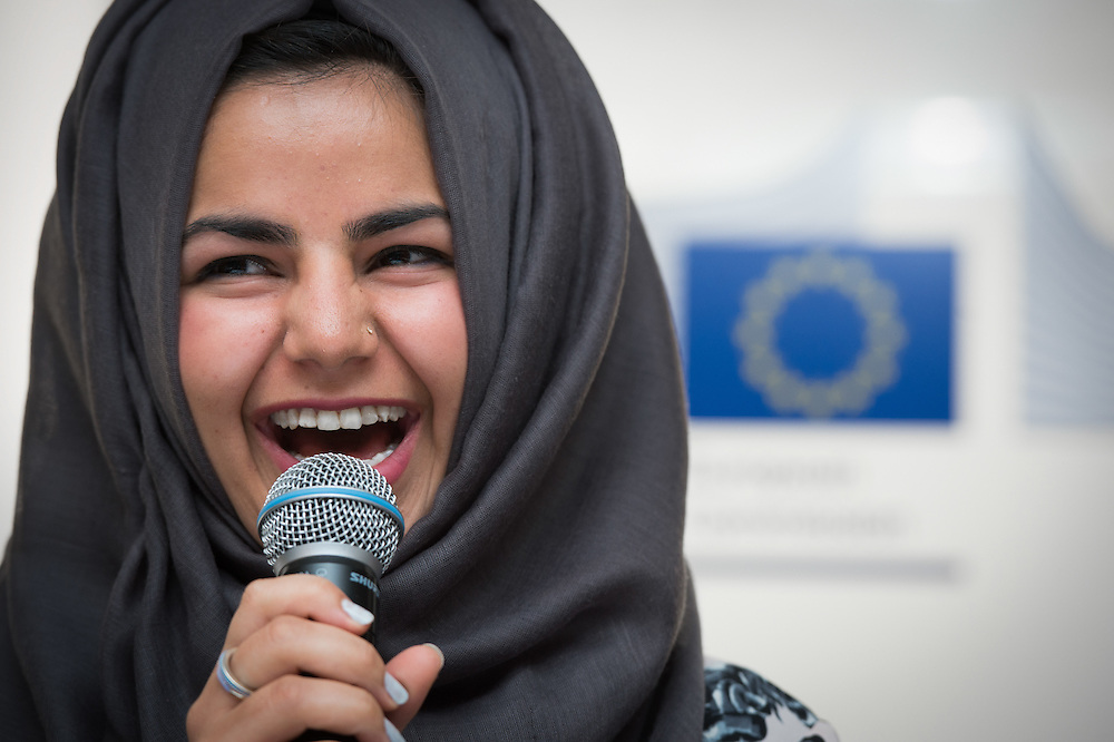 04 June 2015 - Belgium - Brussels - European Development Days - EDD - Citizenships - Accountability advocates - Youth voice at the heart of implementing the Sustainable Development Goals - Nazmeen Amin , Speaker © European Union