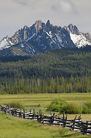Stanley Basin in the Sawtooth Mountains, Sawtooth National Recreation Area Idaho