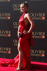 © Licensed to London News Pictures. 09/04/2017. Camila Kerslake attends The Olivier Awards held at the Royal Albert Hall. London, UK. Photo credit: Ray Tang/LNP
