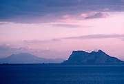 SPAIN, COSTA DEL SOL Gibraltar Strait, Pillars of Hercules